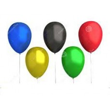 "12"" Balloons - Olympic Colours"