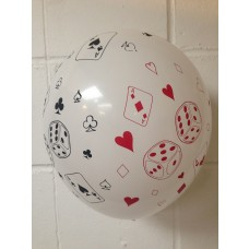 All Over Print Balloons Cards & Dice