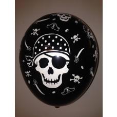 All Over Print Balloons Skull & Crossbones