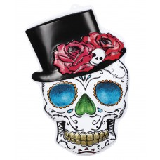 PVC Wall Decoration - Mr Day of the Dead