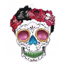 PVC Wall Decoration - Mrs Day of the Dead