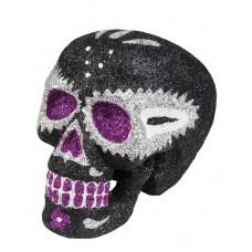 Sugar Skull Glitter - Black