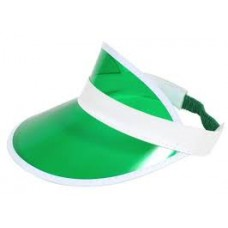 Green Plastic Dealers Visor