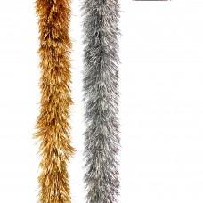 Silver Downswept Tinsel 2m x 15cm