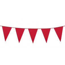 Giant Pennant Bunting - Red