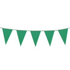 Giant Pennant Bunting - Green