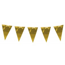 Giant Pennant Bunting - Gold