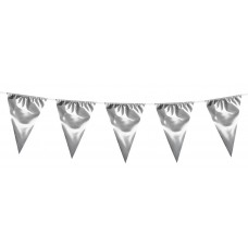 Giant Pennant Bunting - Silver