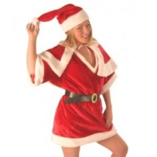 Santa Suit - Female - 4 pieces