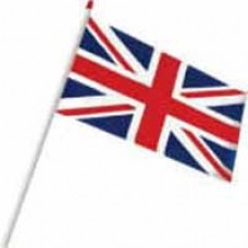 Hand Held Flags - Union Jack