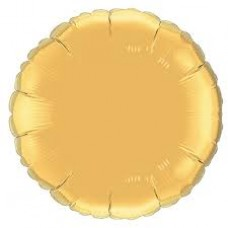 "18"" Round Foil Balloons - Gold"