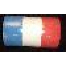 Crepe Roll (Flame Retardant) Red/White/Blue