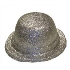 Glitter Bowler Hat