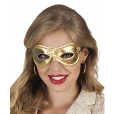 Metallised Eye Masks - Gold