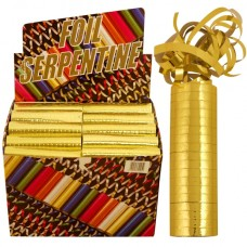 Gold Throw Streamers