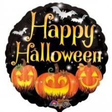 Happy Pumpkins Halloween Balloon