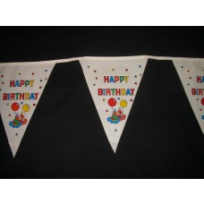 Pennant Bunting -4m - Happy Birthday