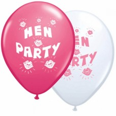 Printed Balloons - Hen Party