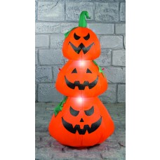 Inflatable Stack of 3 Pumpkins