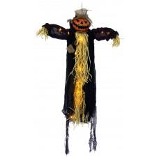 90cm B/Op Scarecrow Pumpkin