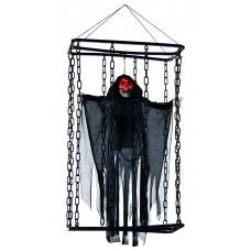 70cm Large B/Op Caged Black Reaper
