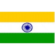 Large Polyester Flag - India