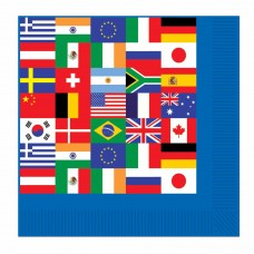 International Flag Napkins