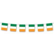 Flag Bunting - St Patrick/Ireland 10m
