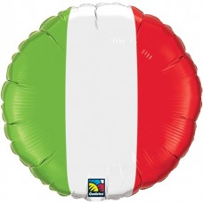"18"" Foil Balloon - Italian Flag"