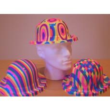Jazz Print Bowler Hat