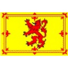 Large Polyester Flag - Lion Rampant