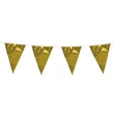 Metallic Bunting Gold 10m
