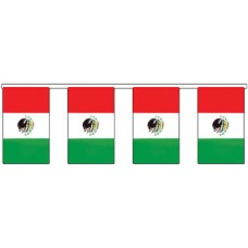 Flag Bunting - 4 metres - Mexico