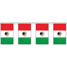 Flag Bunting - 4 metres - Mexico