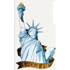 Miss Liberty Cut Out