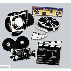 Black & White Movie Cut Outs