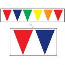 Pennant Bunting -10m - Multicolour