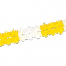 Pageant Garland Yellow/White