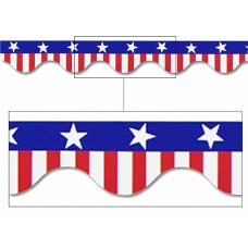 USA Patriotic Border Trim