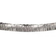 Pelmet Fringe Garland - Silver