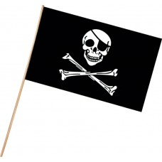 Hand Held Flags - Pirate Flags