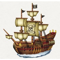 Pirate Ship Cut Out