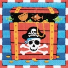 Pirate Treasure Luncheon Napkins