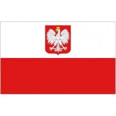 Large Polyester Flag - Poland