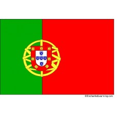 Large Polyester Flag - Portugal