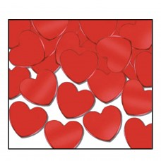 Table Confetti - Red Hearts (28gm)