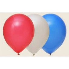 "12"" Balloons - Red/White/Blue"