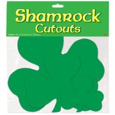 Shamrock Cut Outs - assorted sizes