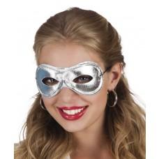 Metallised Eye Masks - Silver