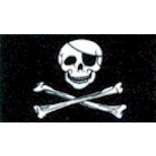 Large Polyester Flag - Pirate